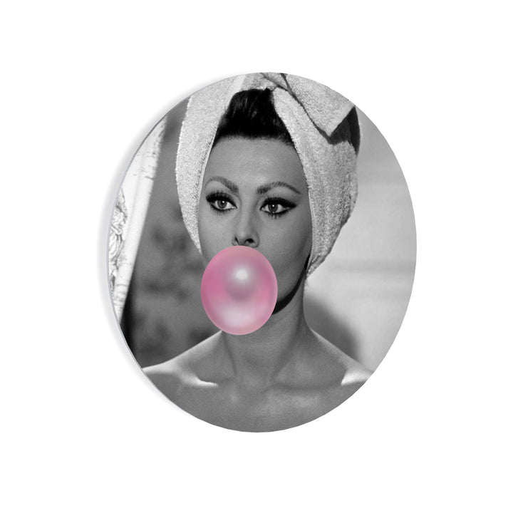 Iconic Bubble Gum Wall Art Metal Prints