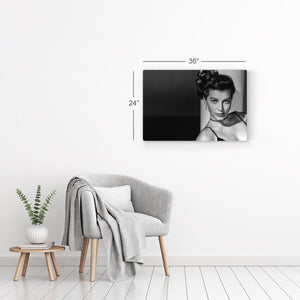 Ava Gardner Black and White Iconic Wall Art Canvas Prints Metal Prints