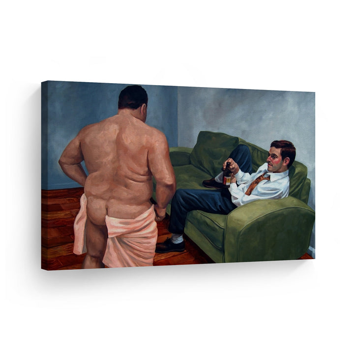 Kenny Mencher Paintings Gay Wall Art Painting Wall Decor Wall Art Canvas Prints Metal Prints