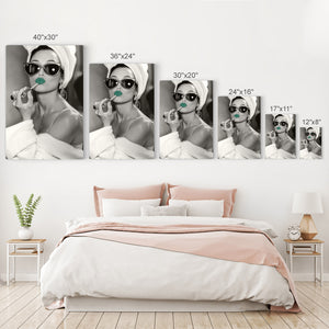 Audrey Hepburn Pop Art Canvas Prints Metal Prints