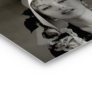 Marilyn Monroe Hat Iconic Wall Art Canvas Prints Metal Prints
