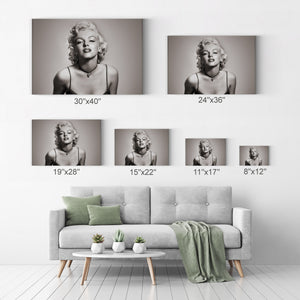 Marilyn Monroe Sexy Look Iconic Wall Art Canvas Prints Metal Prints