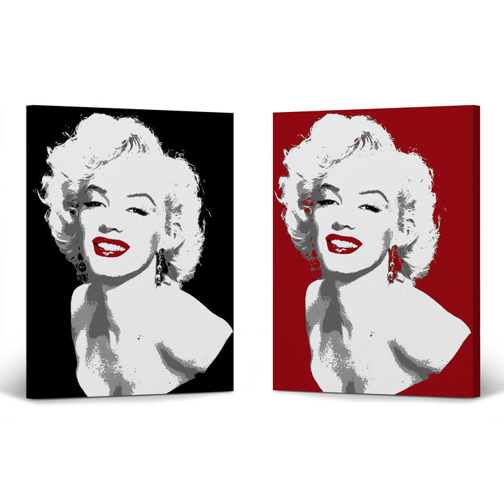 Marilyn Monroe Wall Decor Art Canvas Print Metal Print Iconic Celebrity