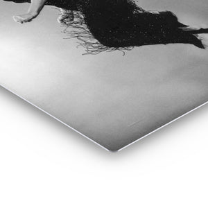 Marilyn Monroe Jumping Pose Iconic Wall Art Canvas Prints Metal Prints