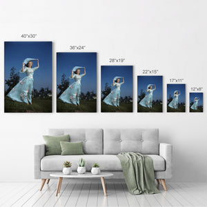 Marilyn Monroe Young Iconic Wall Art Canvas Prints Metal Prints