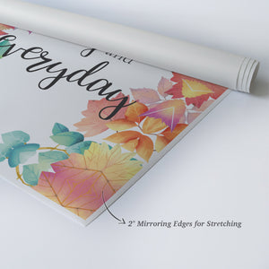 Thankful And Grateful Today And Everyday Quote Scripture Wall Art