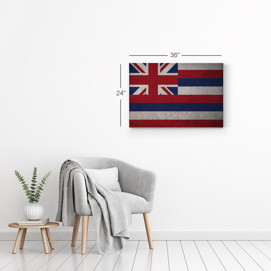 American State Flags Wall Art Canvas Prints Metal Prints