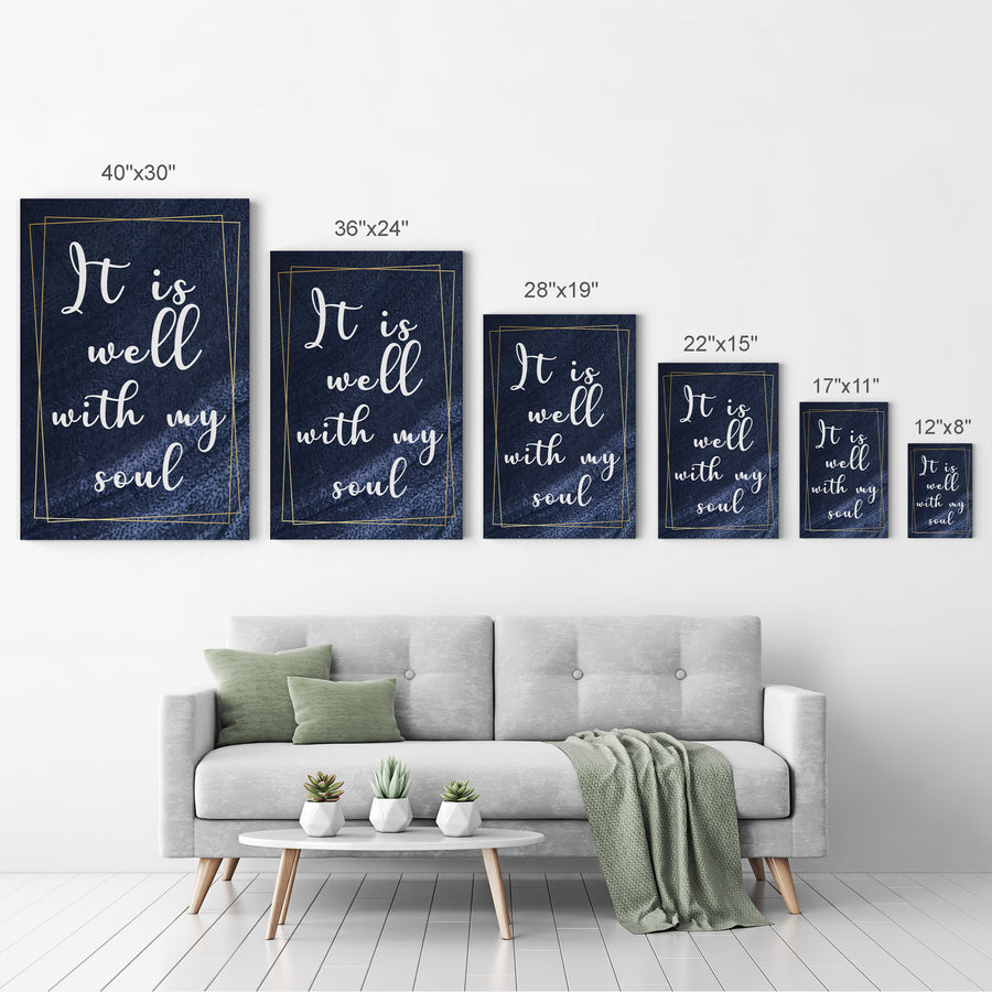 Scripture Inspirational Bible Verses of the Day Christian Wall Art Canvas Prints Metal Prints