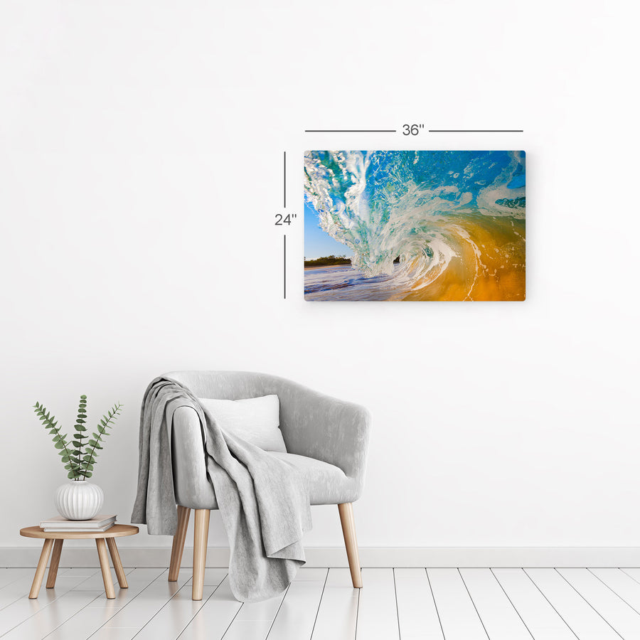 Ocean Wave Wall Art Canvas Prints Metal Prints