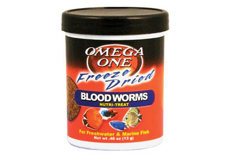 Omega One Freeze Dried Bloodworms 13g