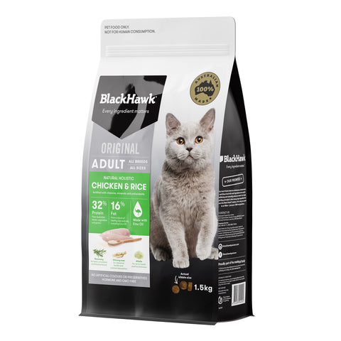 BlackHawk Cat Chicken 1.5kg