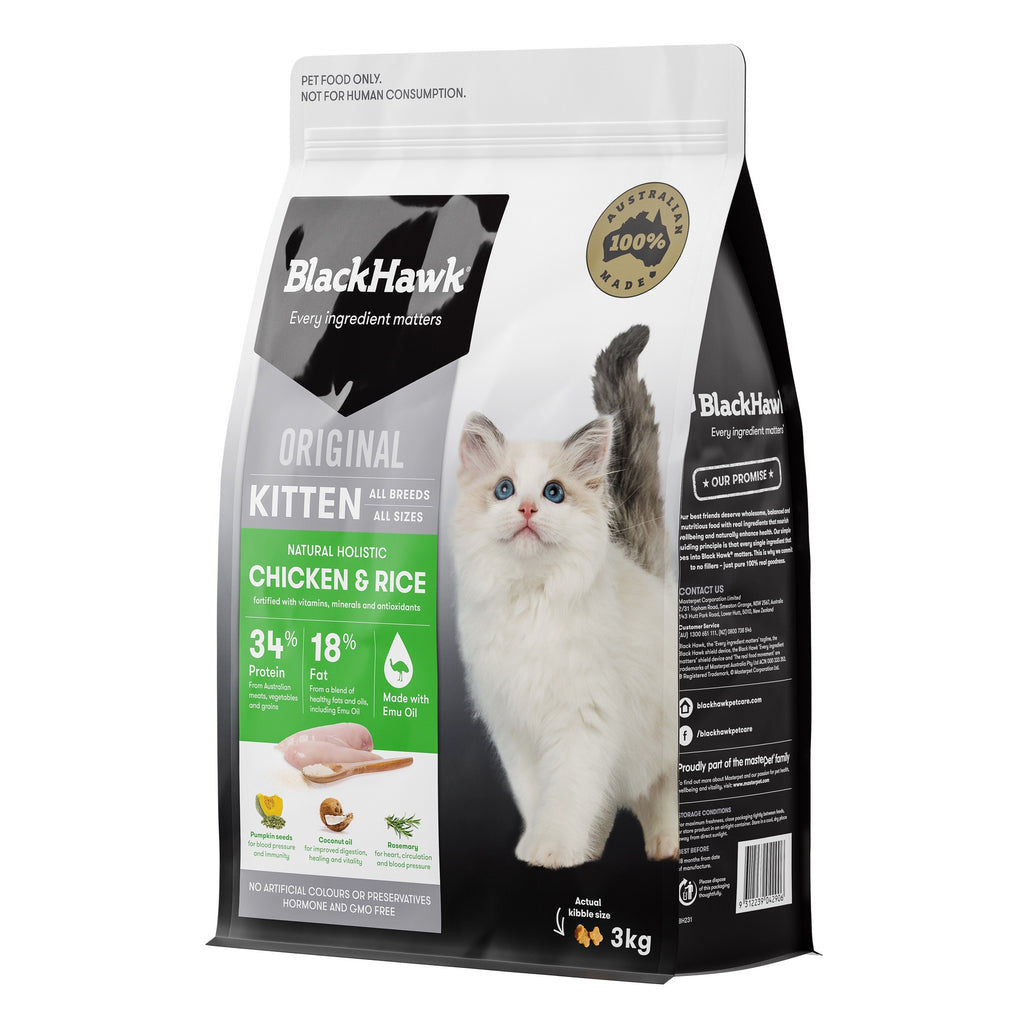 BlackHawk Kitten Chicken & Rice 3kg