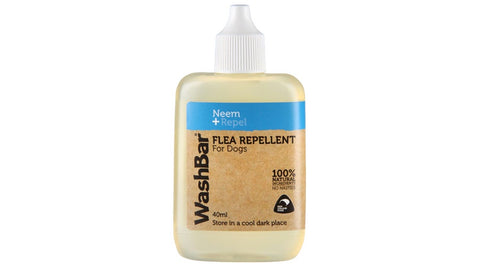 Washbar Natural Flea Repellent 40ml