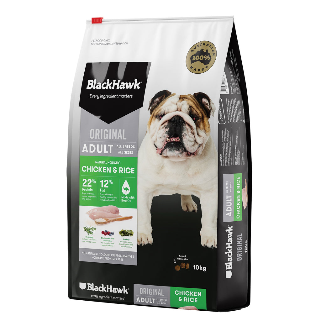 BlackHawk Dog Adult Chicken & Rice 10kg