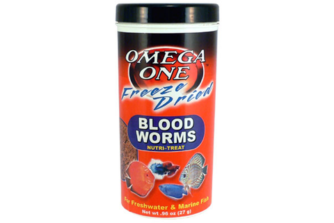 Omega One Freeze Dried Bloodworms 27g