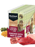 BlackHawk Cat Chicken w/ Beef & Lamb Pouch 85g