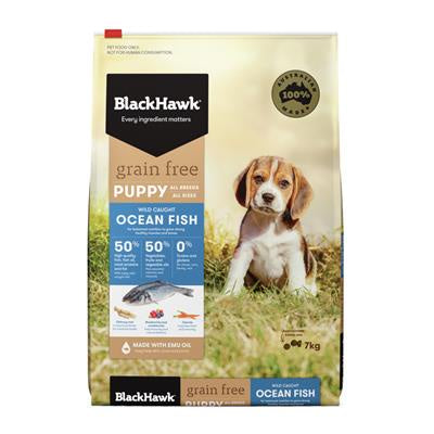 BlackHawk Puppy Grain Free Ocean Fish 7kg