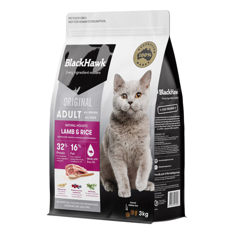 BlackHawk Cat Lamb 3kg