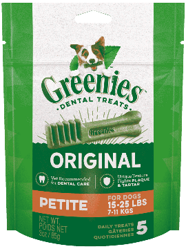 Greenies Canine Petite Mini Treat 170g