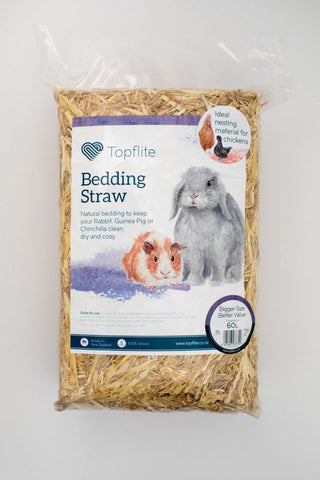 Topflite Bedding Straw 60L