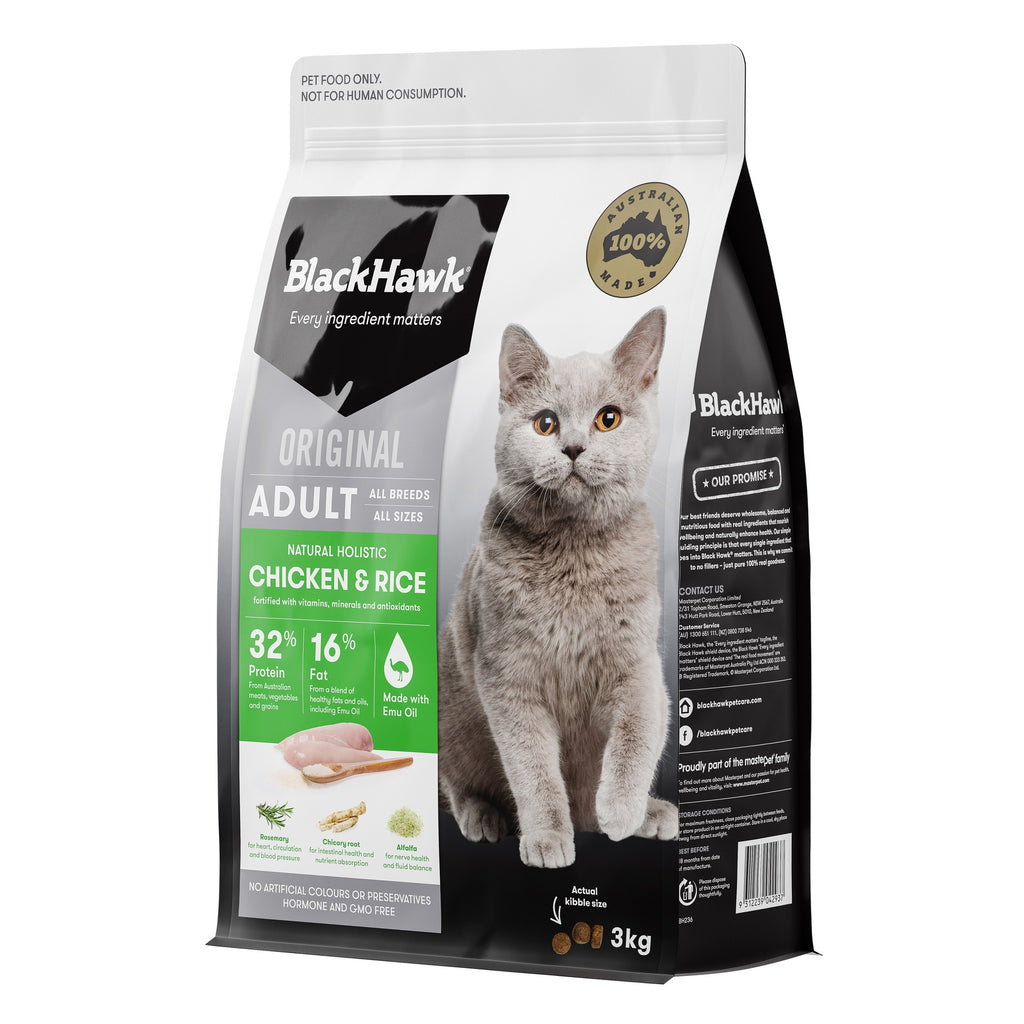 BlackHawk Cat Chicken 3kg