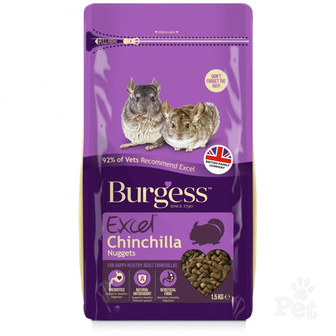 Burgess Excell Chinchilla 2kg