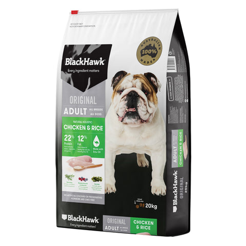 BlackHawk Dog Adult Chicken & Rice 20kg