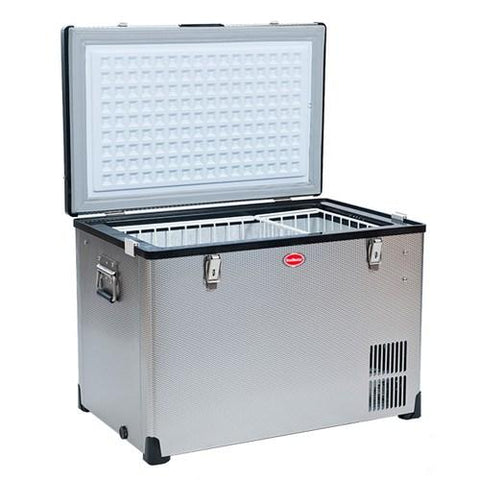 SnowMaster BD/C-82 Stainless Steel Fridge Freezer