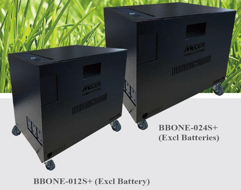 Mecer 24V 2400VA 1440W Battery Centre with LCD Display - Excludes Batteries