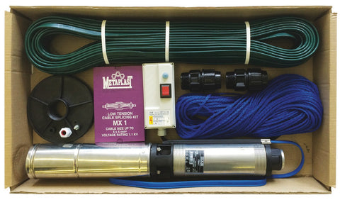 DAB WATERPACK 2 - 50m cable S4 -2/7 Borehole Pump Kit