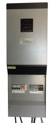 Axpert 5KVA Inverter Kit with Pre-wired AC DC Solar Back Plane