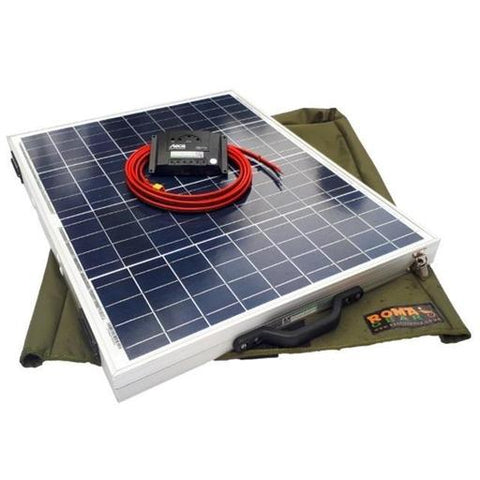 RomaGear Foldable Solar Panel Kit 100W