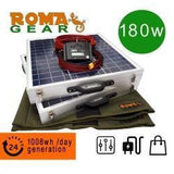 RomaGear Foldable Solar Panel Kit 180W