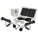 Solar Panel Light Kit 2 Lights