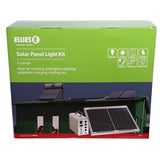 Solar Panel Light Kit 4 LED Lights