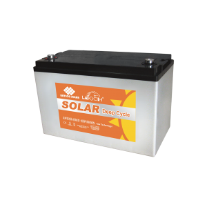 Leoch 12V 100AH Long Life Deep Cycle AGM Gel Solar Battery