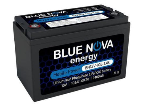 Blue Nova Lithium battery 1.4kwh 12V