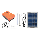 Eurolux 5W Solar Powered Kit with Cell Phone Charger