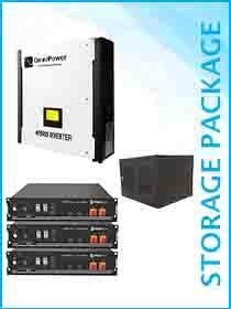 Omnipower Plus 5kW Hybrid / Pylon 7.2kWh Package Including Cabinet