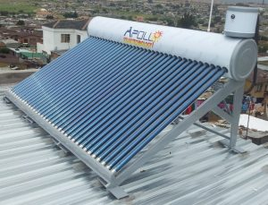 Apollo 350L Integrated Low Pressure Solar Geyser System