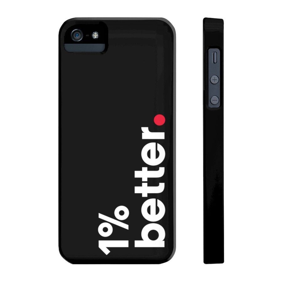 Black Phone Case 1% Better for iPhone X