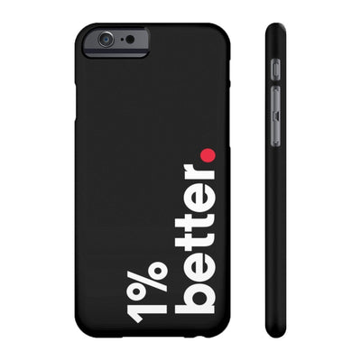 Black Phone Case 1% Better for iPhone 6/6S