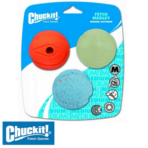 Chuckit! Fetch Medley Assortment of 3