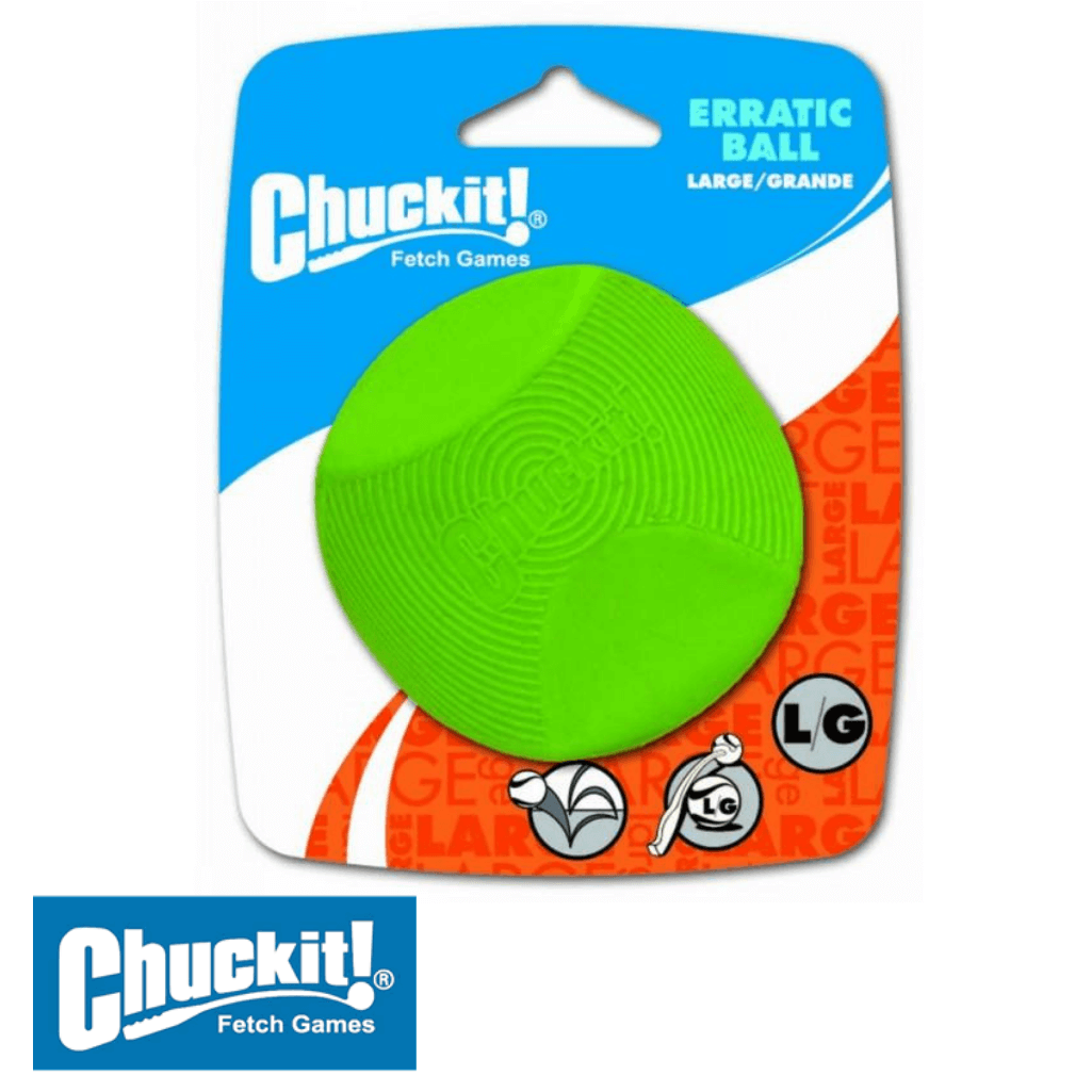 Chuckit! Erratic Ball Large | Chuckit! Australia Dog Toys