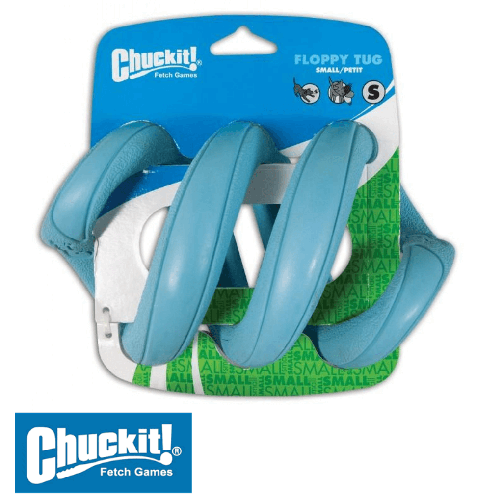 Chuckit! Floppy Tug Small Blue - Tug toys for dogs