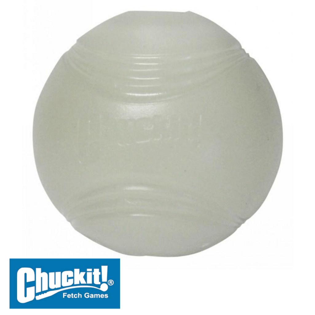 Chuckit! Max Glow Ball - Glow in the Dark Dog Ball