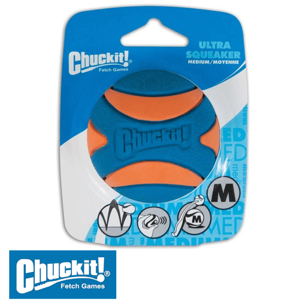 Chuckit! Ultra Squeaker Dog Ball Medium