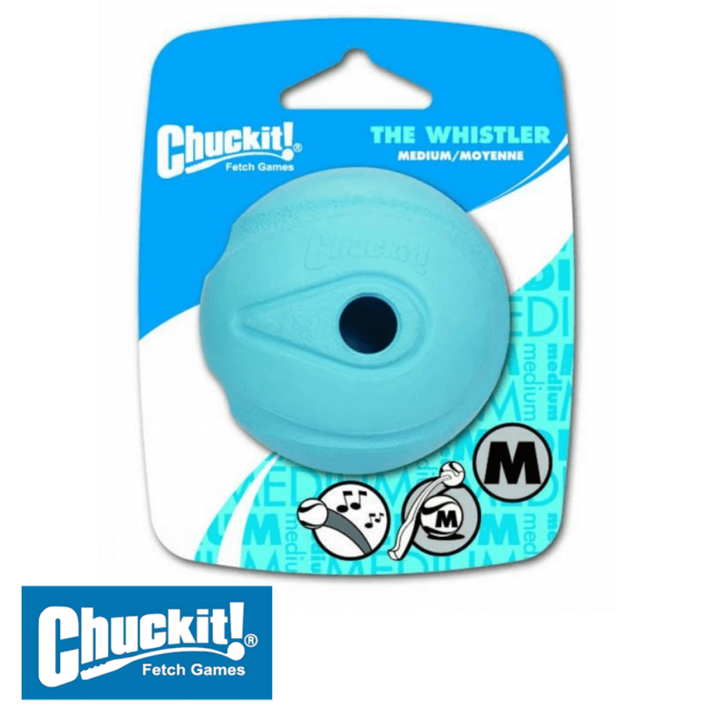 Chuckit! Whistler Dog Ball Medium - Chuckit! Australia