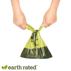 Earth Rated Dog Poop Bags Unscented Handle Bags