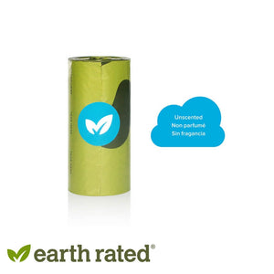 Earth Rated Dog Poop Bags Refill Pack Unscented Rolls